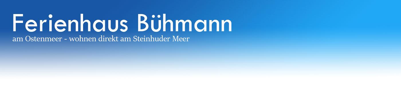 Ferienhaus Bühmann am Ostenmeer